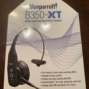 VXI Corporation Blueparrott B350-XT Black Headset.